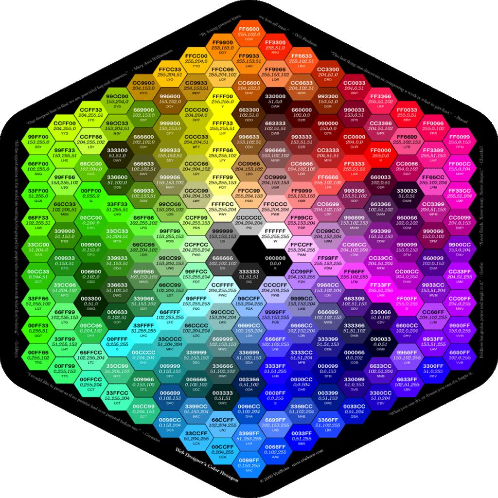 Палитра веб-цветов