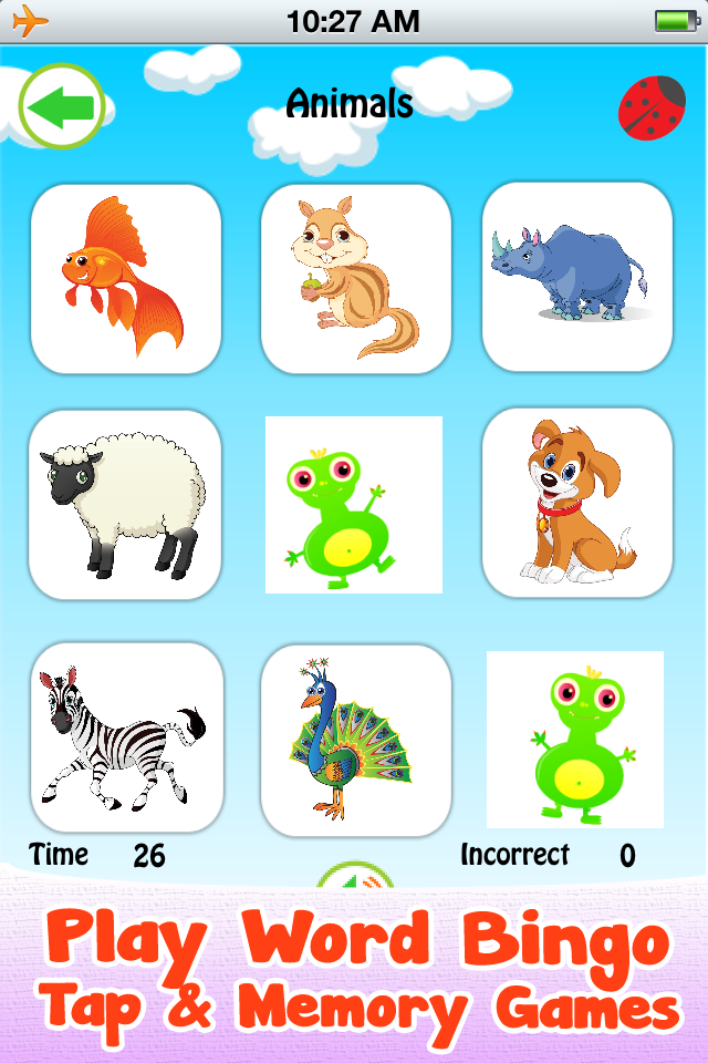 Baby Fun Park : First words flash cards and games for kids in preschool and kindergarten. Play ...