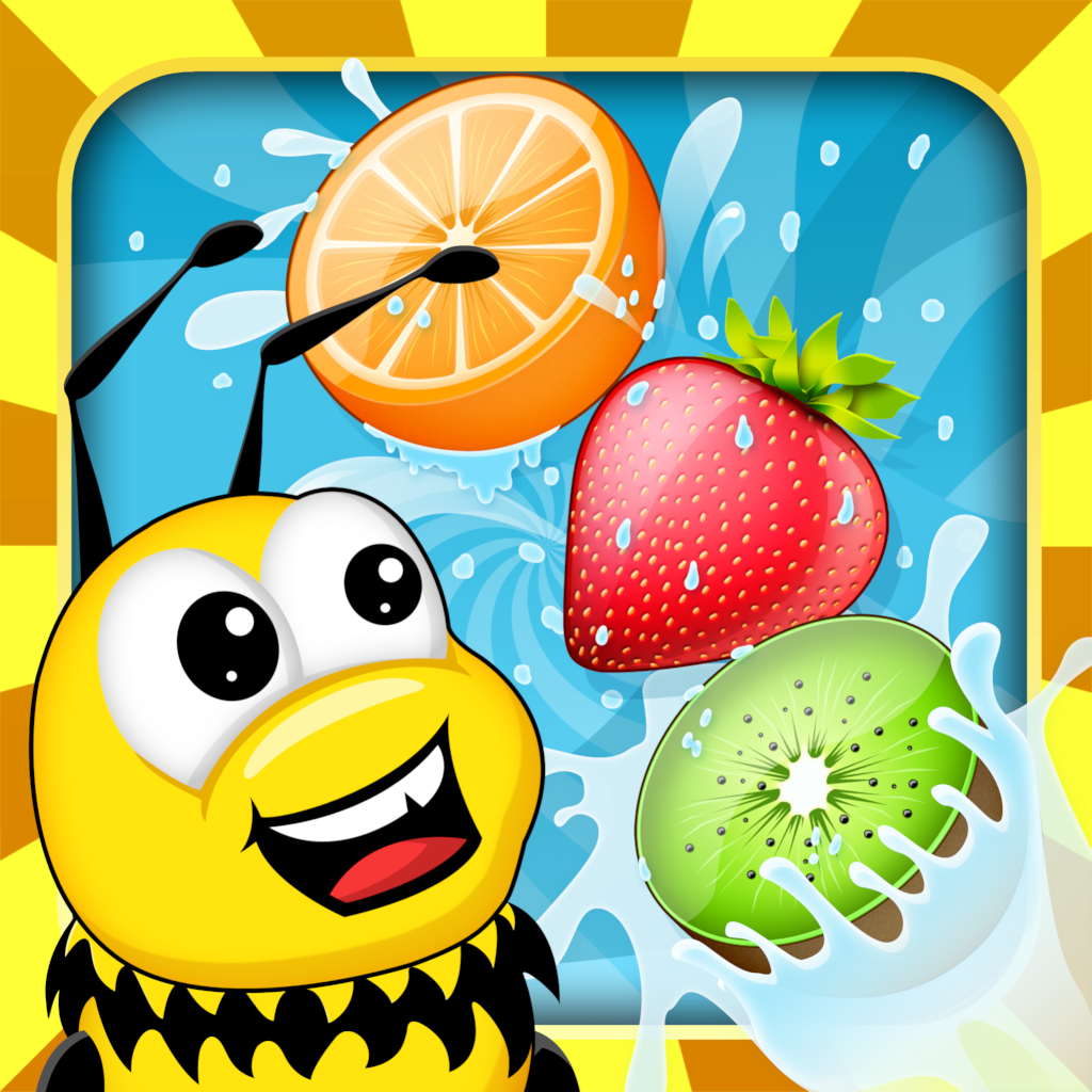 Fruit link deluxe - Bechained Fruit Party Link The Fruits Pop Jewel Or Candy And Let Fall Down The Little Bee Mania